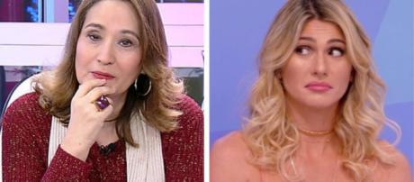 Lívia Andrade ficou furiosa com a apresentadora da RedeTV. (Reprodução)