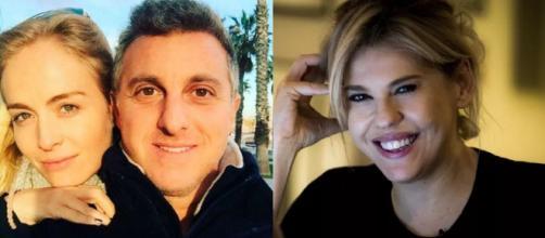 Huck, Angélica e Bárbara Paz (Reprodução Instagram)