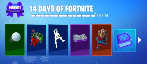 Fortnite 14 Days Of Christmas.Fornite Information On 14 Days Of Fortnite Event Now Available