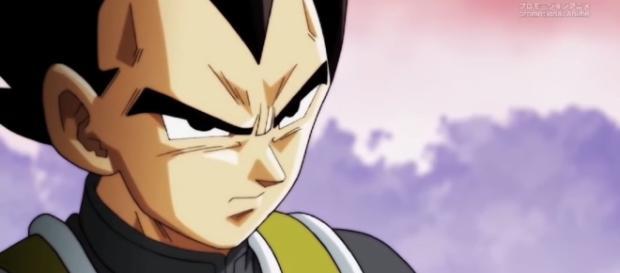 Super Dragon Ball Heroes: A look at villain Cirrus and the new Great Saiyamen. Image credit:Dragon Ball Hype/YouTube screenshot