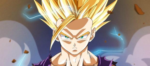 Wallpaper : illustration, anime, cartoon, Dragon Ball Z, Son Gohan ... - wallhere.com