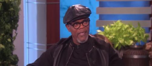 Actor Samuel L. Jackson turned 70-years-old on December 21. [Image via The Ellen Show/YouTube screencap]