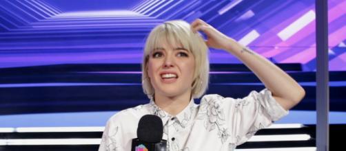 Alba Reche, tras quedar segunda en 'OT 2018'. / YouTube