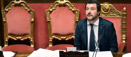 Matte Salvini parla della manovra economica