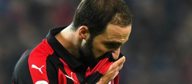 Gonzalo Higuain : une saison en-deçà des attentes avec le Milan AC
