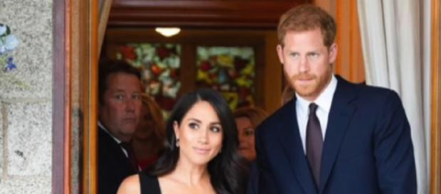 Meghan tells Harry: Prince WILL join friends at Boxing Day pheasant shoot. [Image source/Breaking News YouTube video]