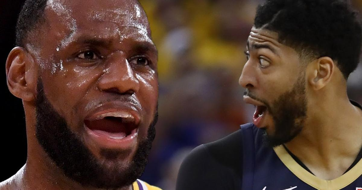 bb5a2ff4fc5a NBA GMs outraged over LeBron James for tampering with Anthony Davis to  Lakers talk