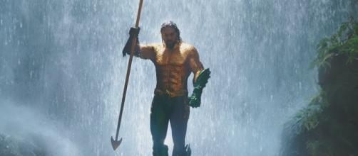 'Aquaman' leads the movies at the box office heading into the weekend. - [Warner Bros. Pictures / YouTube screencap]