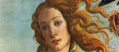 Detail of Sandro Botticelli's Birth of Venus [Image source: Uffizi Galleries Source/Photographer scan of print]