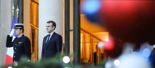 Emmanuel Macron en réveillon de Noël avec les soldats français au Tchad