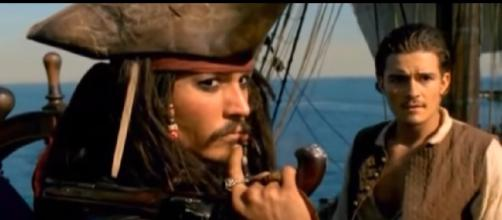 Scene from Pirates of the Caribbean: The curse of the Black Pearl. [Image source/MOVIE PREDICTOR YouTube video]
