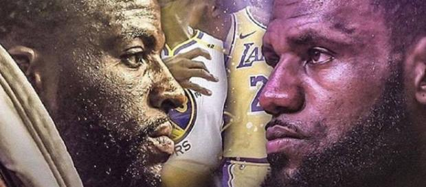 Draymond Green and LeBron James [Image by Clutchpoints / Instagram]
