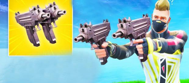 New SMG is coming to Fortnite. [Image source Fortnite Clips / YouTube]
