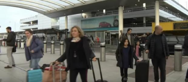 Relief as flights resume after drone chaos at Gatwick Airport. [Image source/CBC News: The National YouTube video]