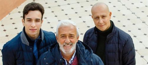 Il trio Giordano: Diego e l'amore per Rossella.