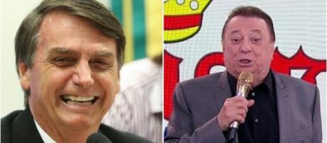 Bolsonaro tem sido assunto no 'Programa Raul Gil' (reprodução: Site oficial PSL / SBT)