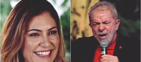 Michelle Bolsonaro provoca ex-presidente (Reprodução Youtube / PT)