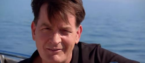 Actor Charlie Sheen hit one-year mark of sobriety. [Image Source: Sunday Night - YouTube]