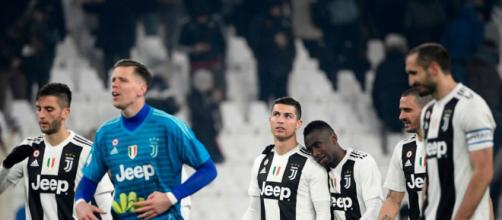Bentancur, Szczesny, Ronaldo, Matuidi e Bonucci (sito Foxsport.it)