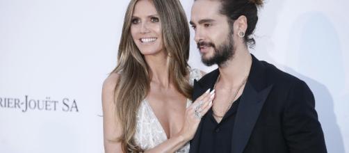 Heidi Klum e Tom Kaulitz dei Tokio Hotel insieme