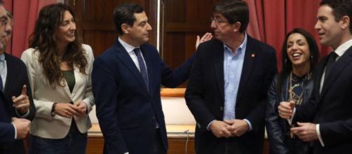 PP y Ciudadanos llegan a un acuerdo de cómo quedará la Junta y el Parlamento de Andalucía