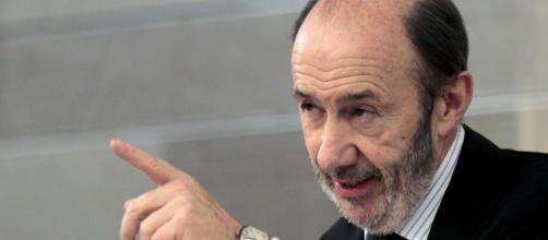 Rubalcaba no acepta ser el candidato a Alcalde de Madrid