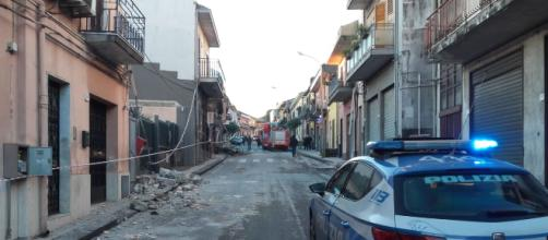 Terremoto a Catania: paura e gente in strada
