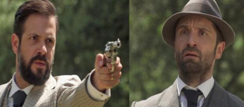Trame Il Segreto: Severo e Carmelo uccidono lo stalker di Adela