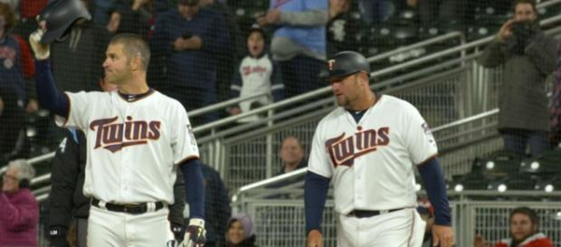 Joe Mauer is one of several star players who retired from pro baseball in 2018. [Image Credit] Minnesota Twins - YouTube