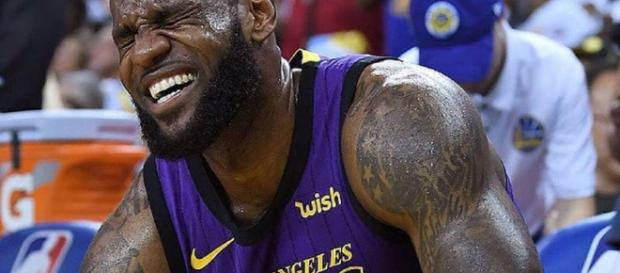 LeBron James will miss time with the Lakers [Image by lebronjamesbrasil / Instagram]