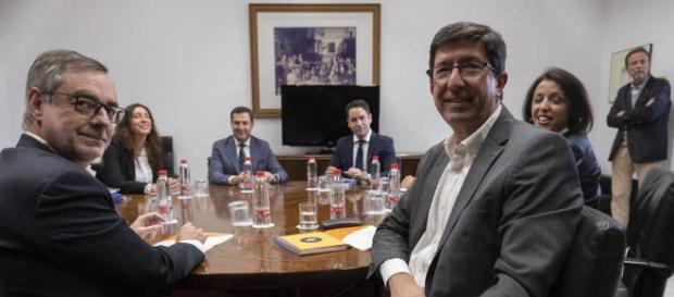 PP y Ciudadanos logran llegar a un pacto para gobernar Andalucía