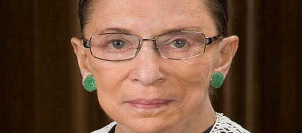 Ruth Bader Ginsburg official SCOTUS portrait [Ime source: Ruth Bader Ginsburg - The Oyez Project]