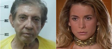 João de Deus está preso (reprodução Secretaria Segurança Pública Goias / TV Globo)