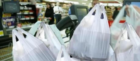 Plastic carry bags. [Image source/Guardian Australia YouTube video]