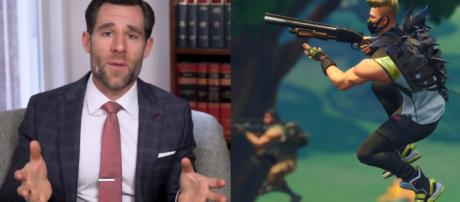 Popular lawyer talks about Fortnite's lawsuits. [Image source: Own work