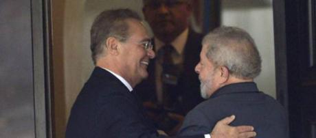 Renan usa mensagem enigmática para pedir liberdade de Lula (Foto/Reprodução/Veja)