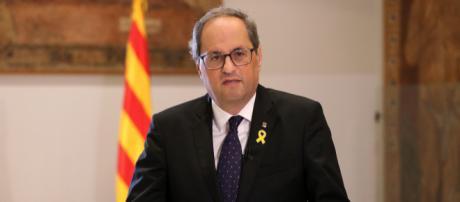 Torra espera la decisión del Estado sobre la propuesta de autodeterminación
