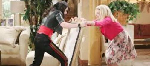 Beautiful, puntate Usa: Quinn Fuller minaccia Pam di romperle la testa