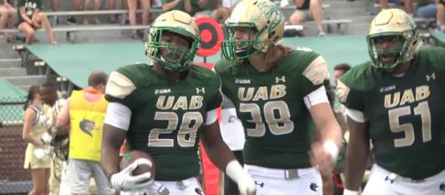 Michael Lockhart went from unknown UAB commit to hot property this week. [Image via UAB Athletics/YouTube]
