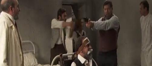 Spoiler Il Segreto: Mauricio, Fernando, Julieta, e Saul salvano Raimundo