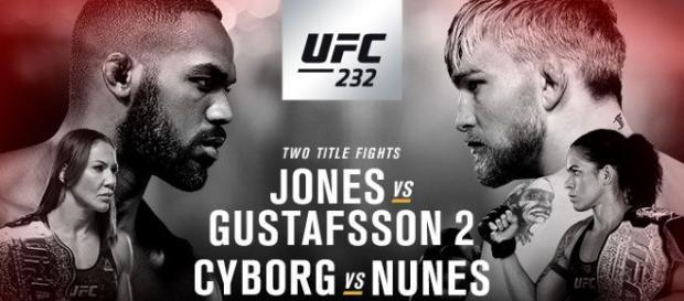 UFC 232, Jones vs Gustafsson 2 a Los Angeles: diretta streaming su DAZN
