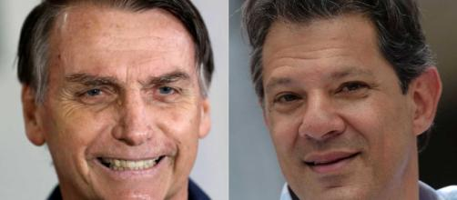 Disputa acirrada entre Bolsonaro e Haddad marcou a eleição presidencial (Reprodução)