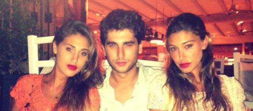 I fratelli Rodriguez: Cecilia, Jeremias e Belen.