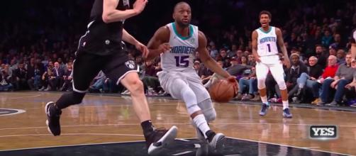Kemba Walker has dragged the Hornets into relevancy this season. Image Credit- YouTube User- NBAonESPN