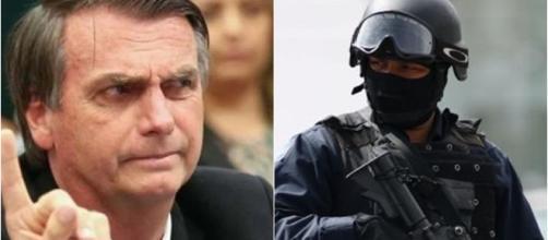 Segurança reforça na posse de Bolsonaro (Reprodução Câmara dos Deputados / Polícia Federal)