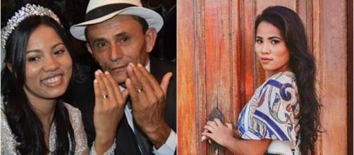Stefhany Absoluta e o marido Rogério Cardoso (Reprodução Instagram Stefhany Absoluta)