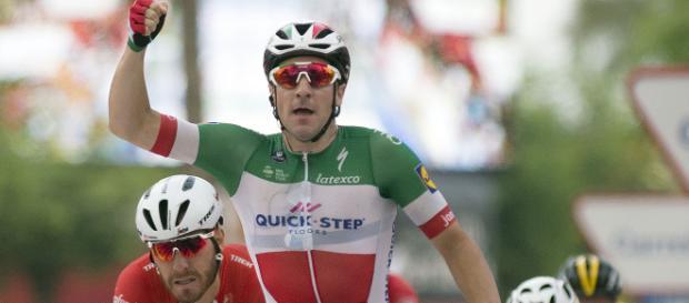 Elia Viviani sarà il velocista principe della Deceuninck Quickstep
