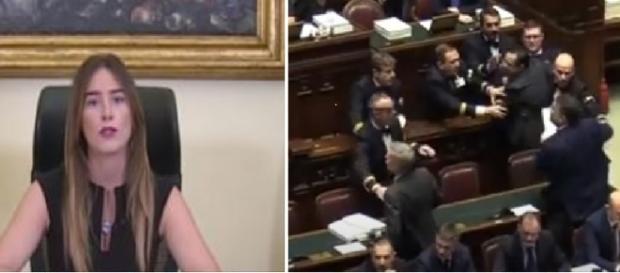 La deputata del Pd ha attaccato duramente il presidente della Camera dei Deputati Roberto Fico