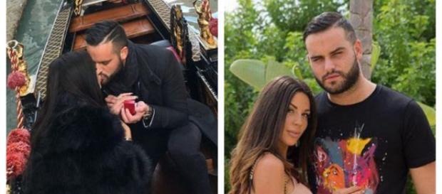 Nikola Lozina et Laura Lempika réconciliés, il l'a demande en fiançailles
