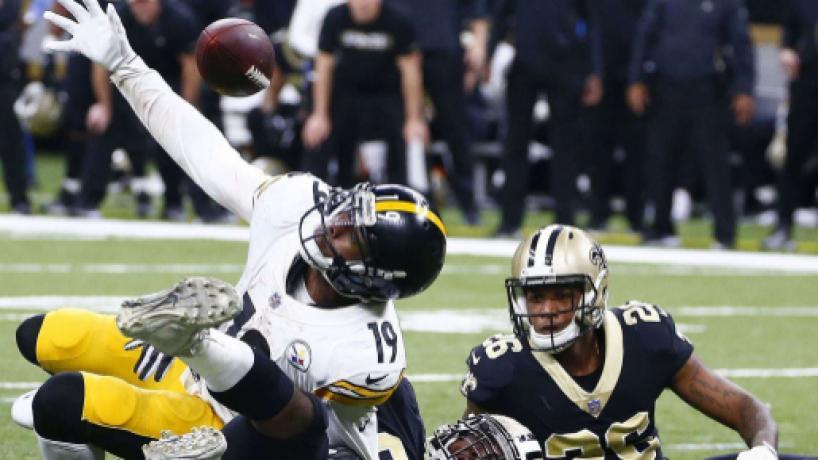 Los Saints dejan heridos de muerte a los Steelers en sus aspiraciones por playoff